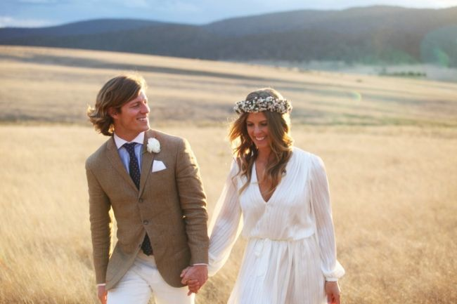 Inside Olympian Torah Bright's intimate country nuptials ...