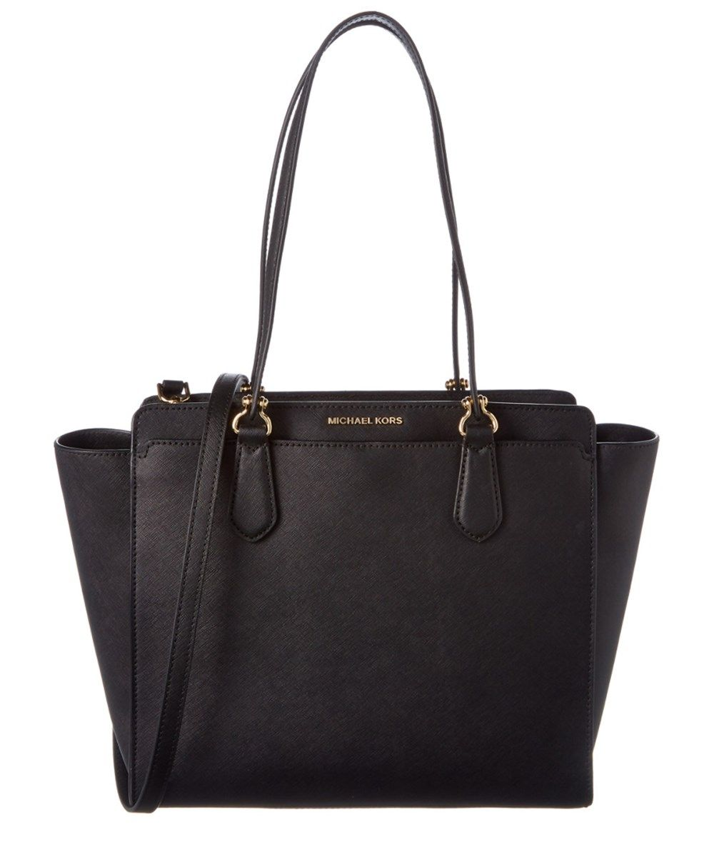 dfca79f81452 MICHAEL MICHAEL KORS Michael Michael Kors Dee Dee Large Convertible Leather  Tote'. #michaelmichaelkors #bags #shoulder bags #hand bags #leather #tote  ...