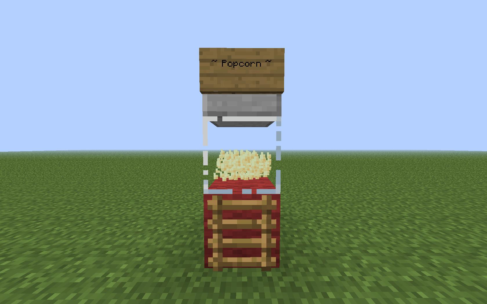 Simple Popcorn Machine   Minecraft   Pinterest   Popcorn ... - photo#22