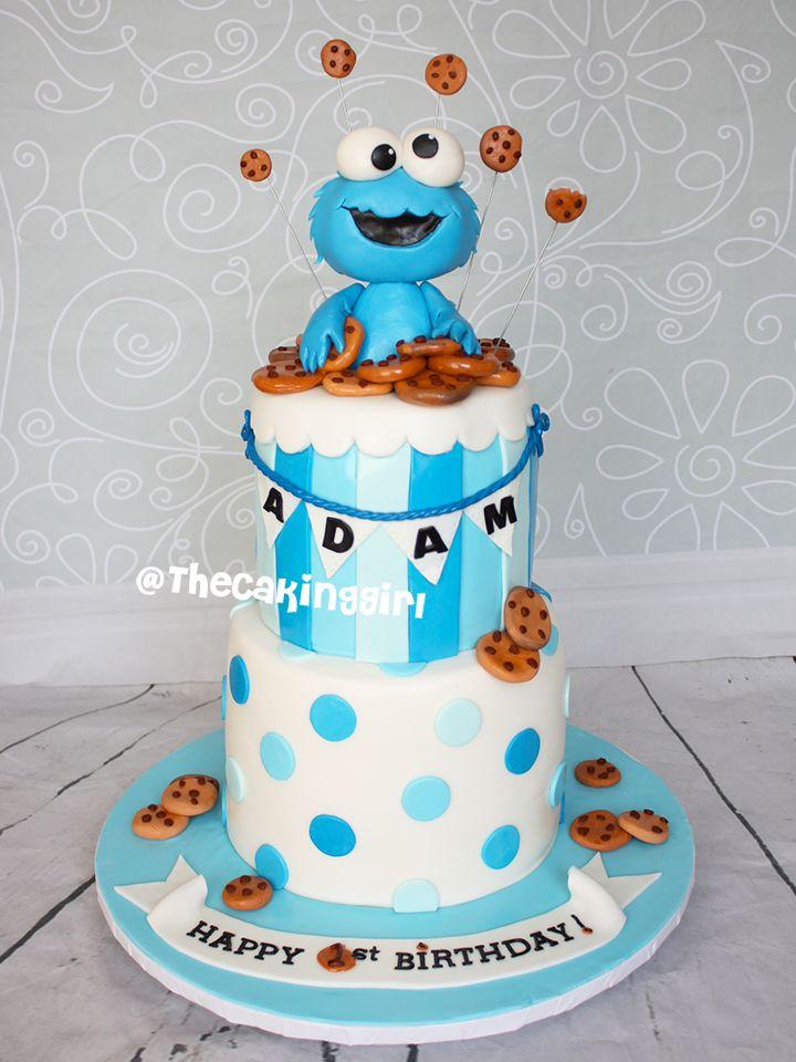 Pin by Danuta Kosarz on cukiernictwo Pinterest Monster birthday
