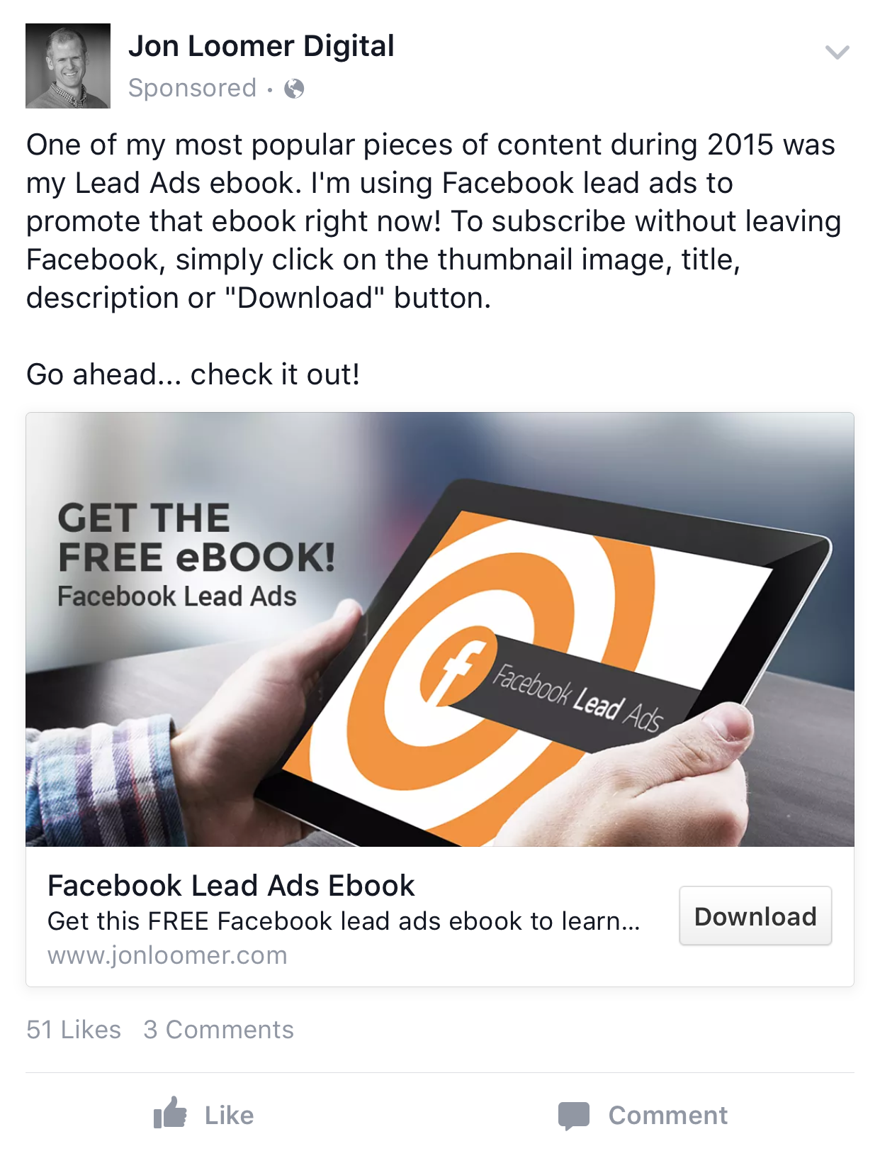 Facebook Ad Examples Facebook Ads Examples Fb Ads Facebook Ad