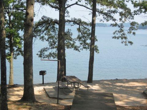 old federal campground campsite3 lake lanier georgia