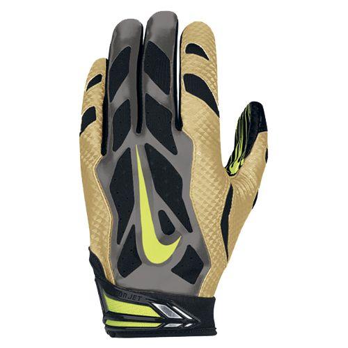dd04ec9fb54 Nike Vapor Jet 3.0 Men s Receiver Gloves - Gold Black