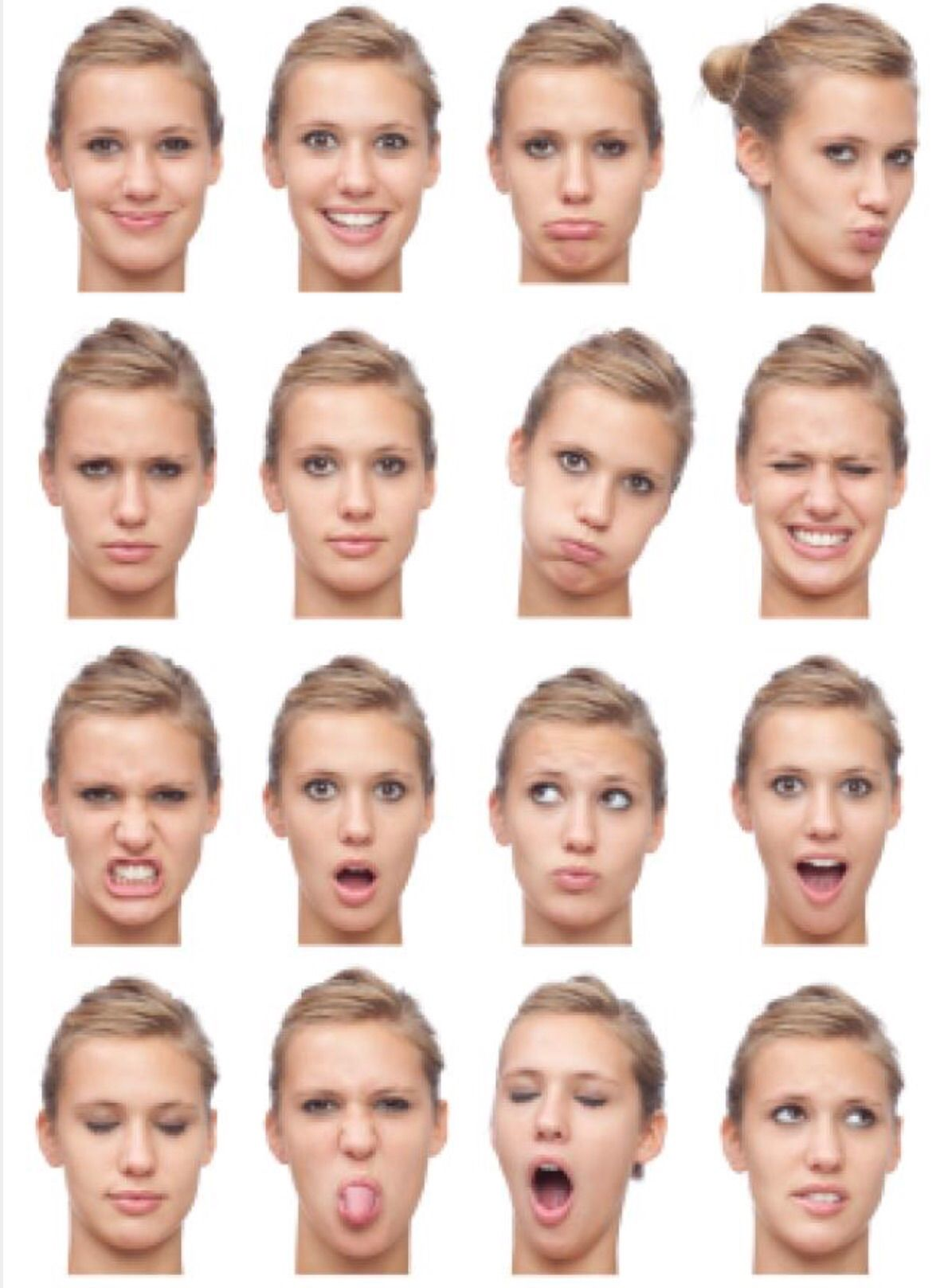 Image Result For Body Language Facial Expressions