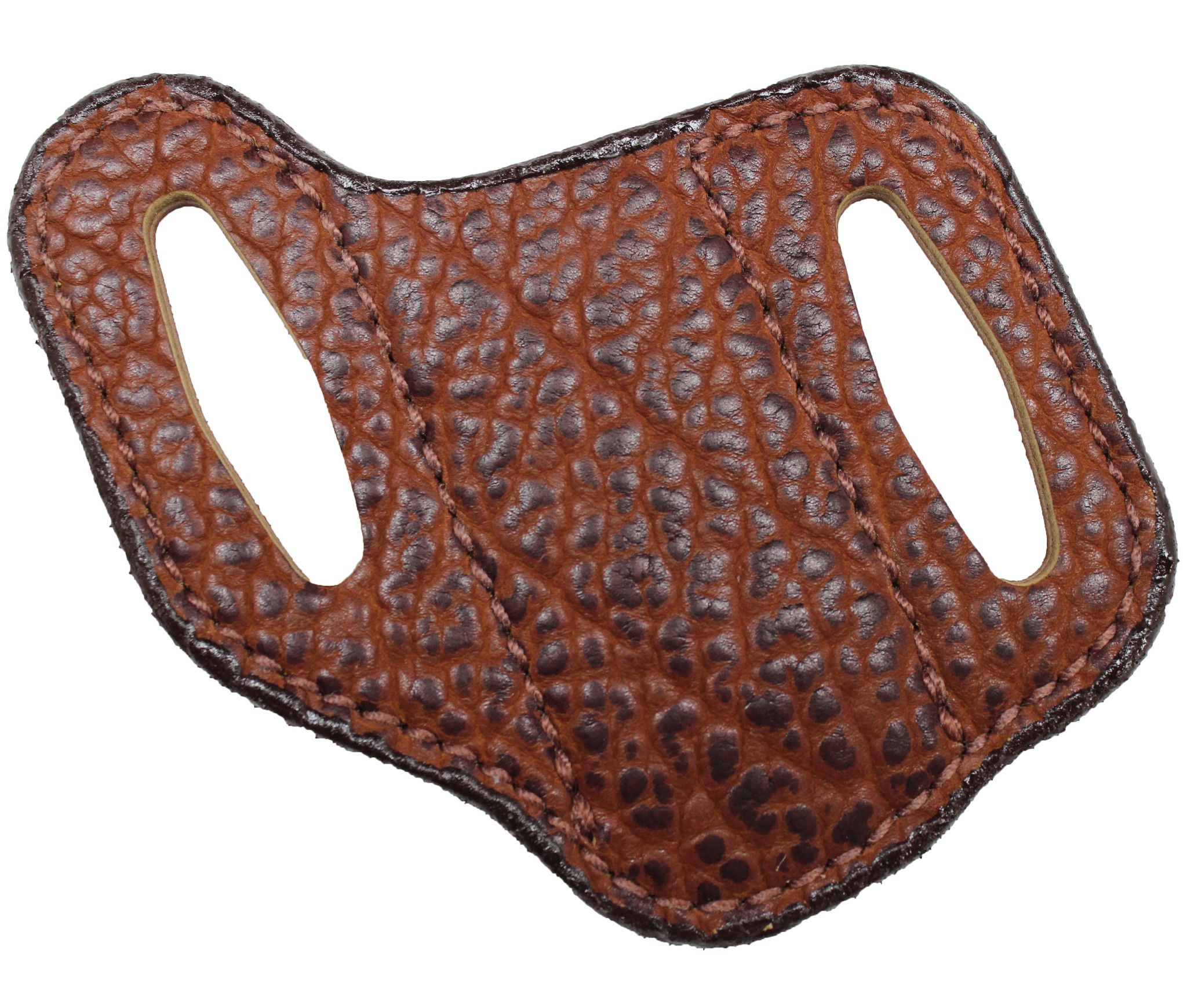 Chestnut American Bison Angle Knife Sheath – The Leather Guy, LLC