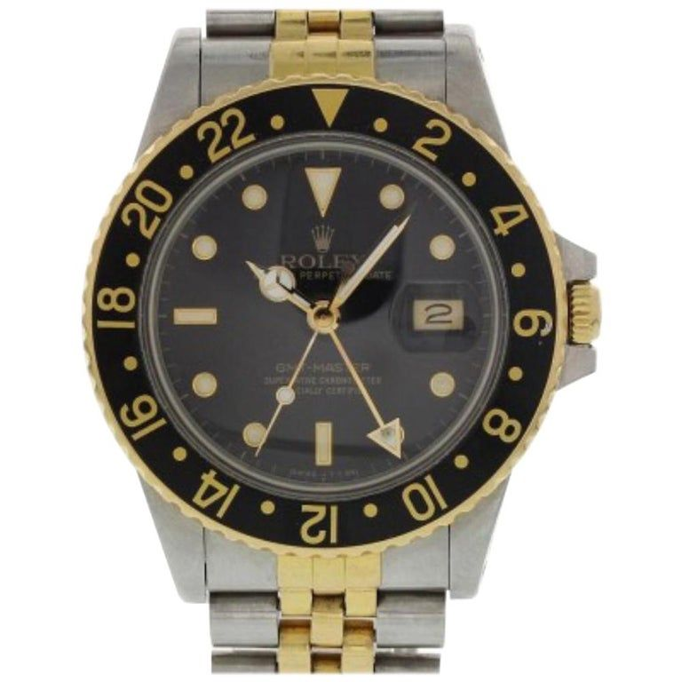 Rolex GMT Master 16753, Case, Certified and Warranty