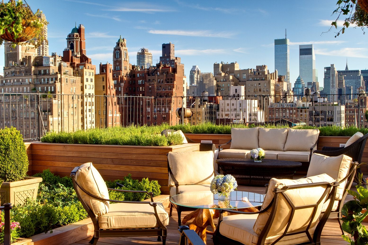 The Surrey On The Upper East Side Luxury Chic New York Hotels Roof Garden Rooftop Garden