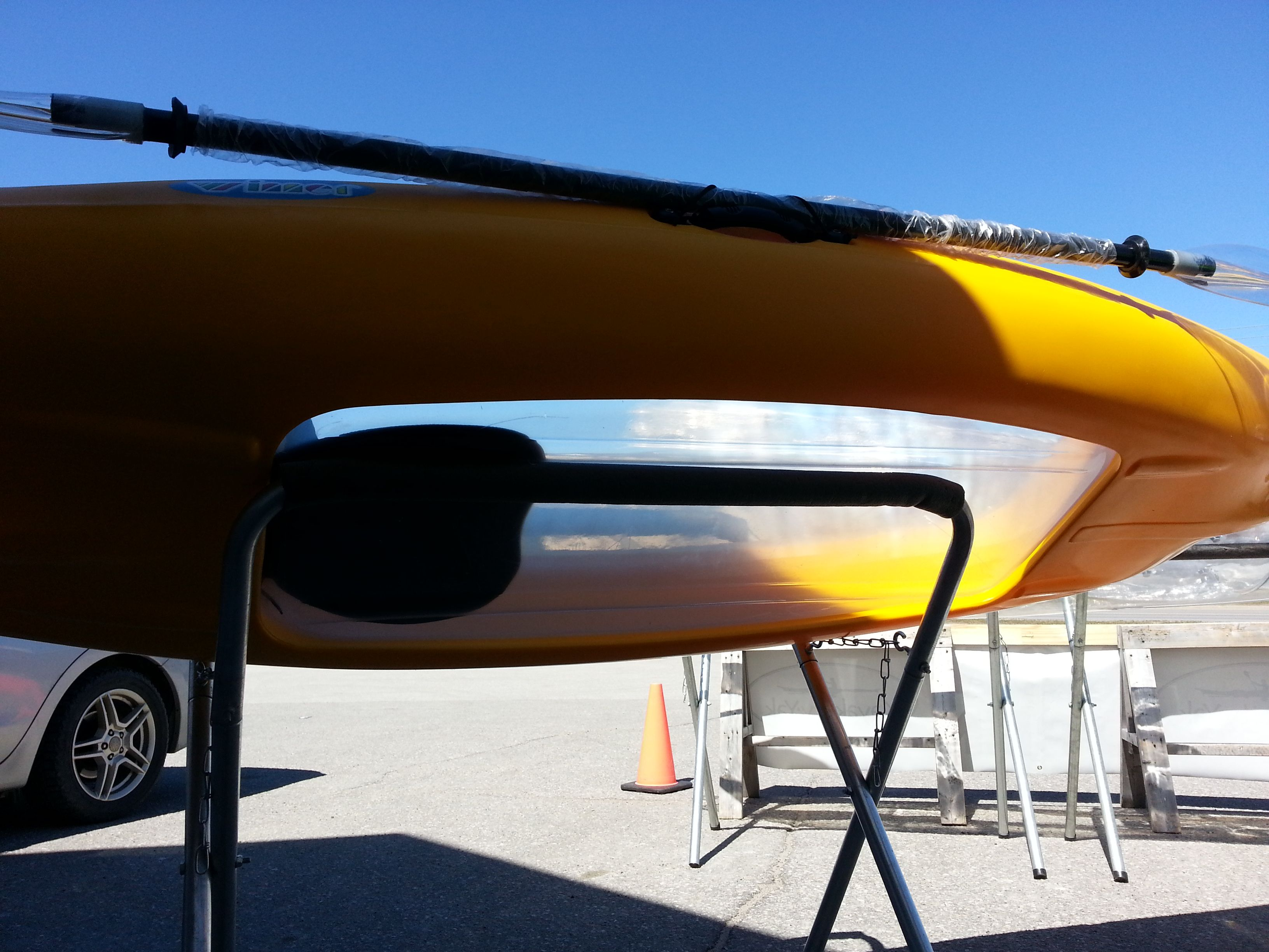 Winner Vue II Transparent bottom Single SitOntop kayak