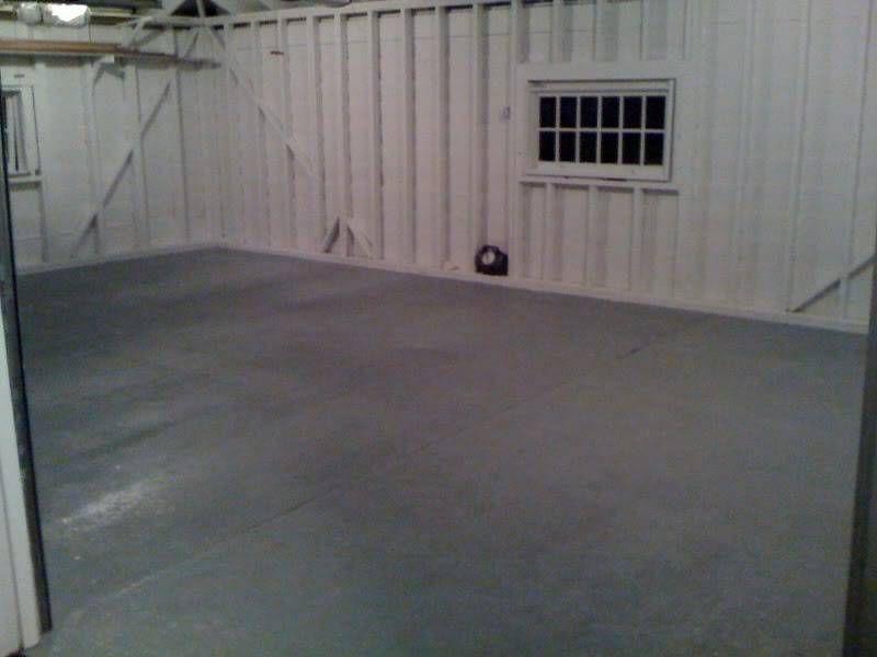 Painting Interior Walls Of Garage With No Drywall In 2020 Garage Interior Paint Interior Wall Paint Garage Interior
