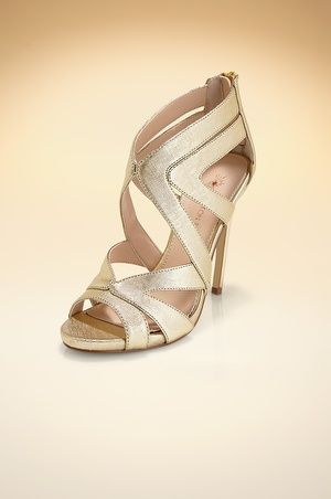 Sexy caged sandal. #BostonProper #Shoes
