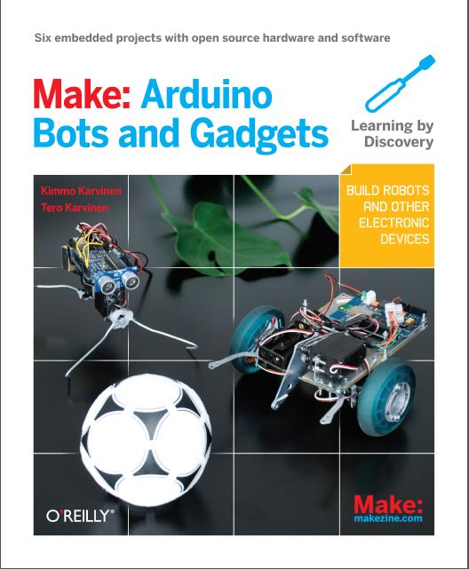 Make: Arduino Bots and Gadgets Free PDF Download, free pdf download ...