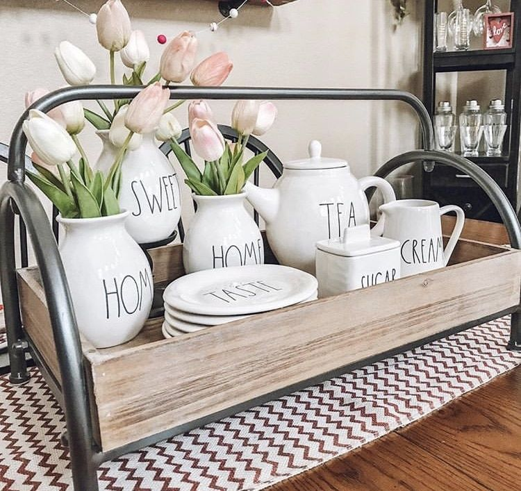What Is Rae Dunn And Why Decorate With It Spring Kitchen Decor Fancy Kitchen Decor Kitchen Decor Collections