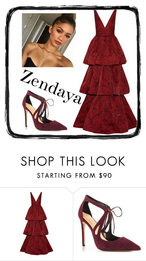 """""""Zendaya"""" by desikaaa on Polyvore featuring Etcetera, Marchesa and Daya"""