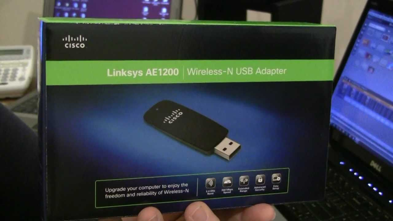 cisco drivers wireless usb ae2500