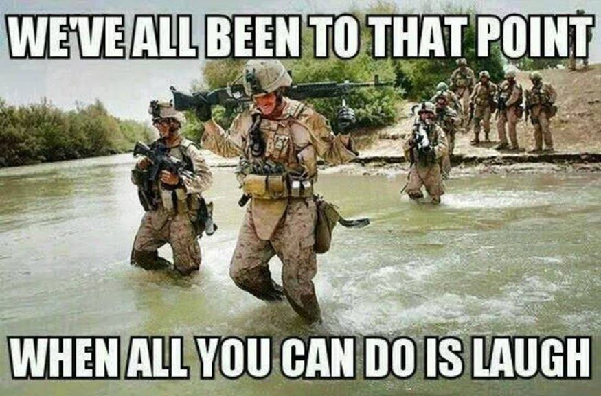 We Ve All Been To That Point Military Humor Military Humor