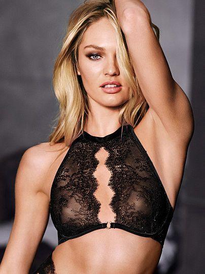 de1a50d38e Chantilly Lace Unlined Halter Bra - Very Sexy - Victoria s Secret ...