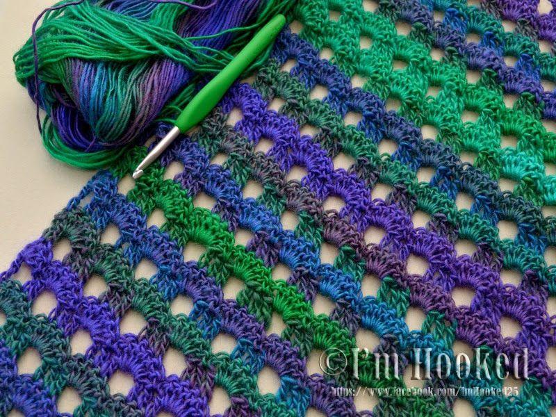 free crochet pattern scarf | banana bread | Pinterest | Patrones de ...