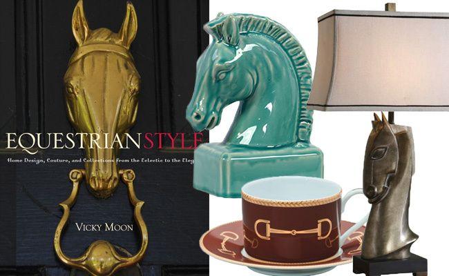 Equine-Inspired Decor Under$200