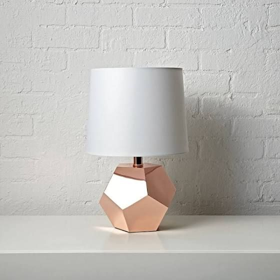 Rose Gold Table Lamp Decoracao Decoracao Rose Gold Luminaria Rosa