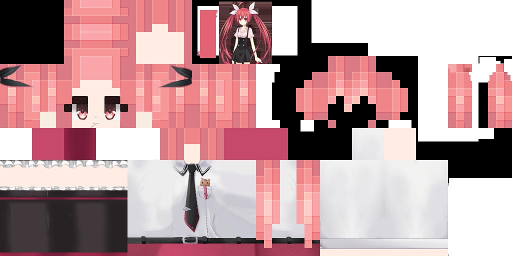 скины майнкрафт для девушек аниме #5