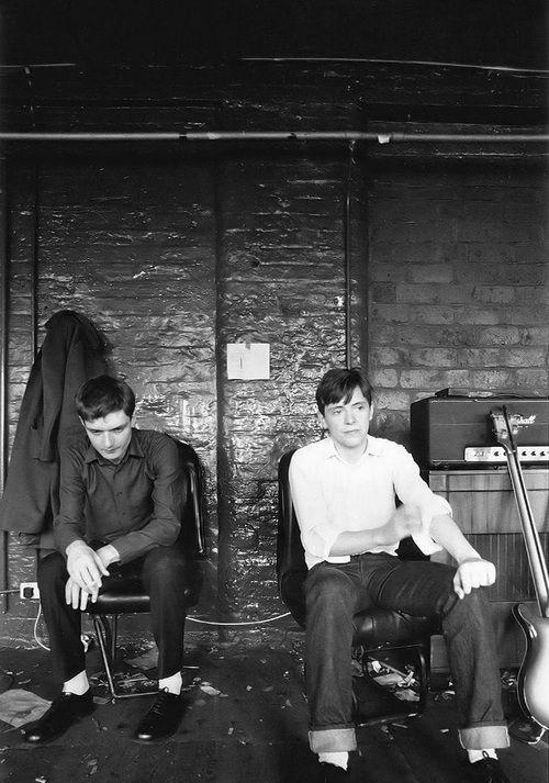 Ian Curtis And Bernard Sumner Joy Division