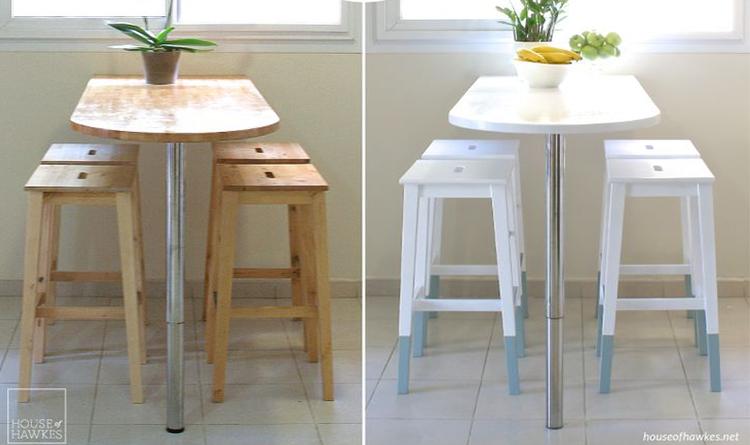 amazing with peindre des chaises en bois