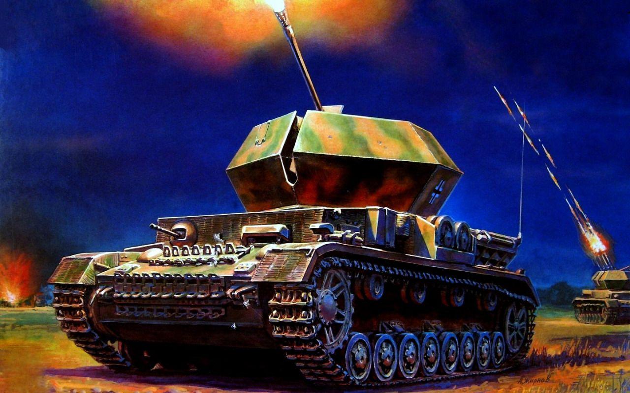 1944 Ostfront Flakpanzer Ostwind - Andrey Zhirnov