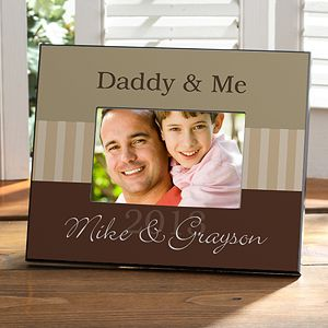 Daddy Me Personalized Frame Personalized Picture Frames