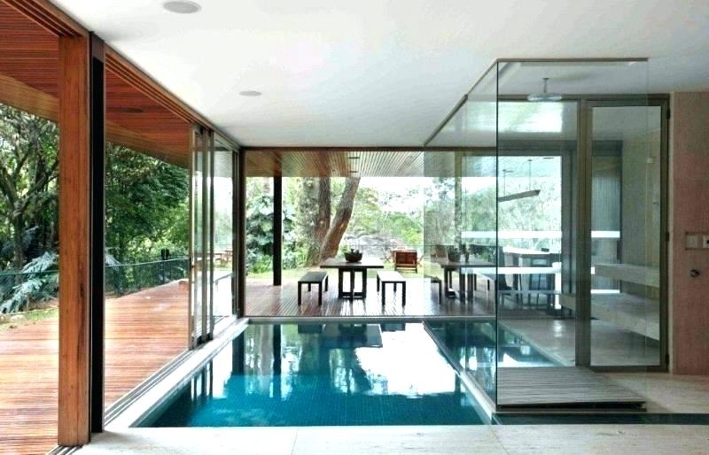 Small Pool Inside House Small Indoor Pools For Homes House With Swimming Pool Modern Home Interior Des Indoor Pool House Pool House Interiors Small Indoor Pool