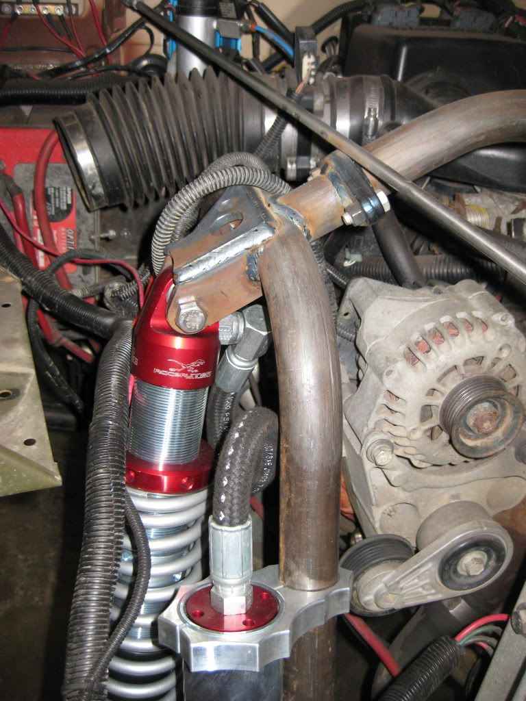 """coilover mount/crossover bar support The """"Rock 40"""" Build"""