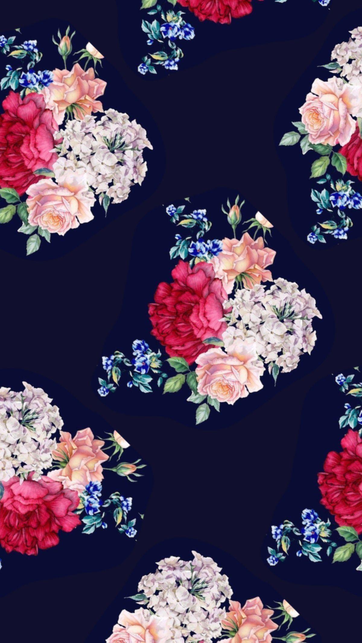Asdadadad Flowery Wallpaper Flower Wallpaper Floral Wallpaper Iphone