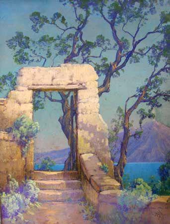 Bert Gallery Providence Rhode Island Scenery Landscape Paintings Italian Art