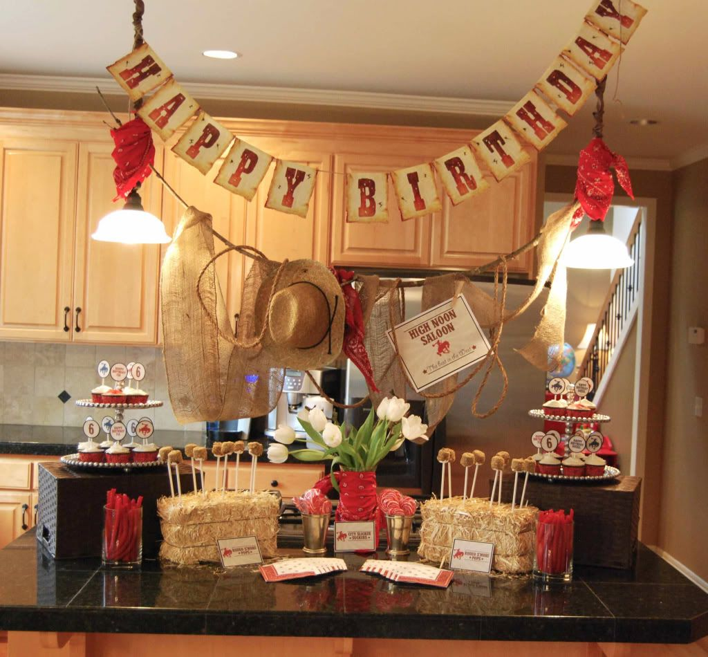 Cowboy And Cowgirl Birthday Party - Part 1~