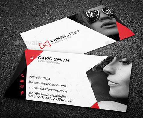 Best Photography Business Card Templates Example With Images