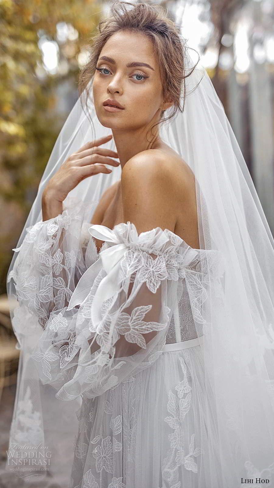 """Lihi Hod Fall 2020 Wedding Dresses — """"White Blossom"""