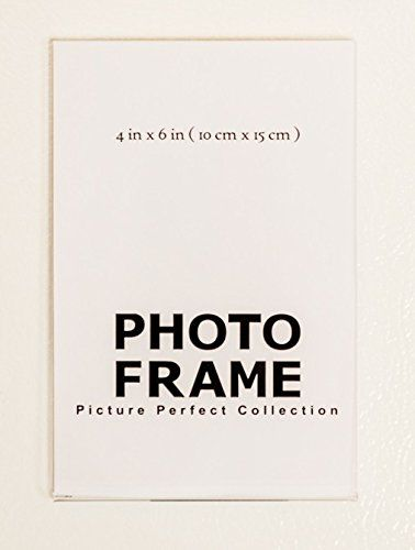 Home Decorators Collection 4x6 Clear Acrylic Picture Frame Magnet Magnetic Acrylic Photo Fr Acrylic Picture Frames Acrylic Photo Frames Magnetic Photo Frames