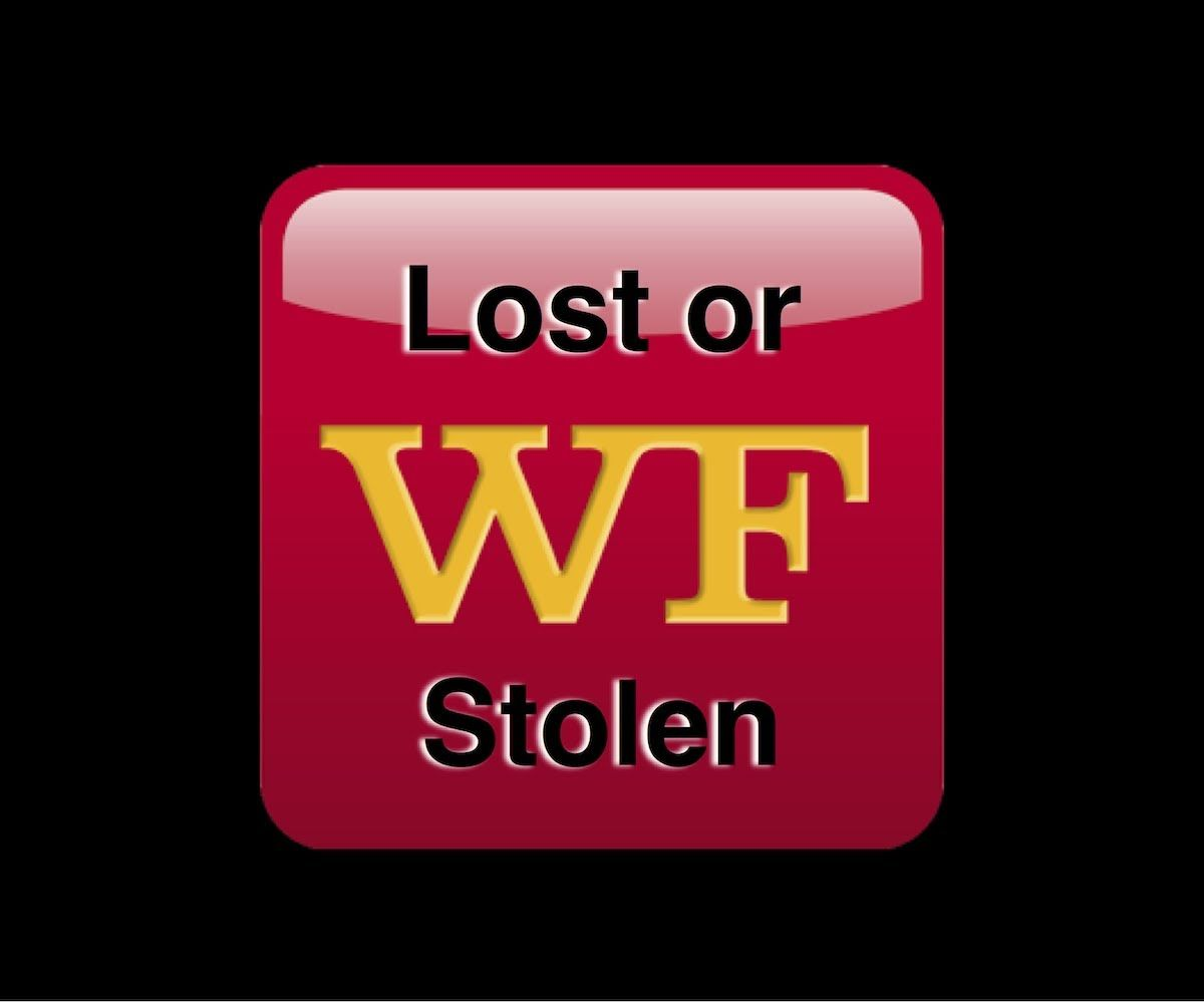 Lost or Stolen? Wells Fargo decided to replace a bank card I had