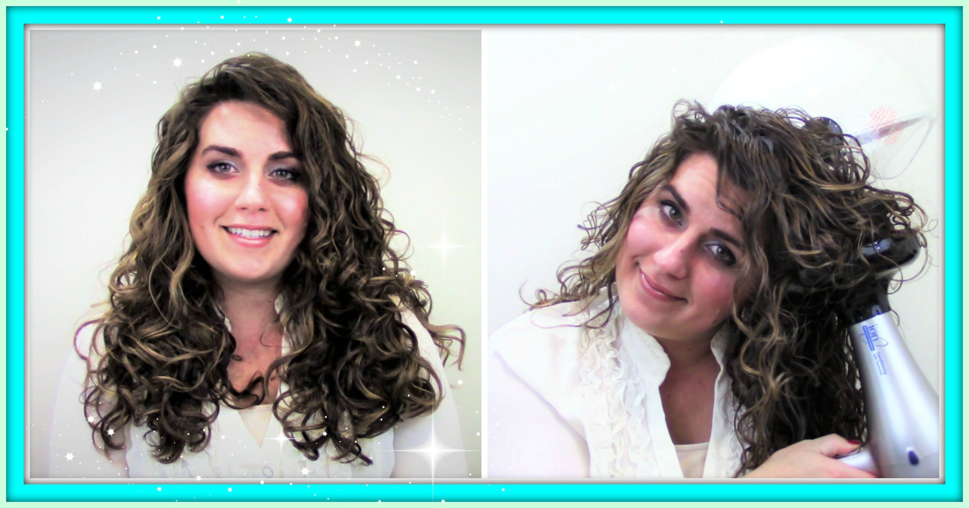 How To Diffuse And Clip Curly Wavy Hair Pixie Curl Diffusing Curly Hair Styles Hair Affair Hair Beauty