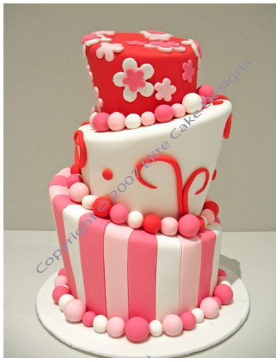 1000 images about sweet 16 birthday cakes on pinterest 18th birthday cake birthday cakes and monster - Birthday Cake Designs Ideas