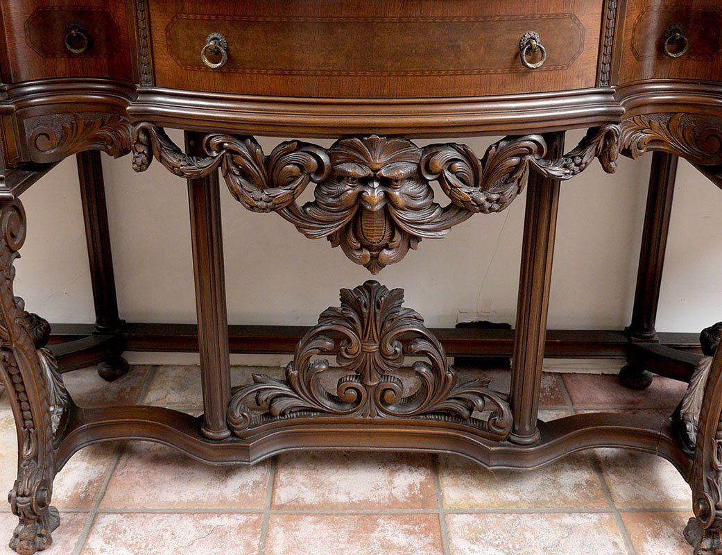 italian wood furniture. italian renaissance revival dining room suite on liveauctioneers. italian furniturewood wood furniture i