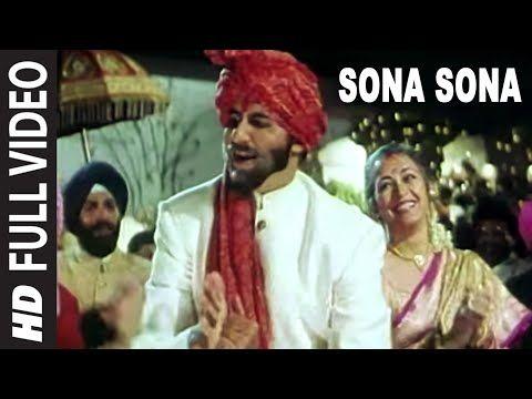 Sona Sona Full Video Song Major Saab Amitabh Bachchan Ajay Devgn Sonali Bendre Youtube Amitabh Bachchan Bollywood Music Songs