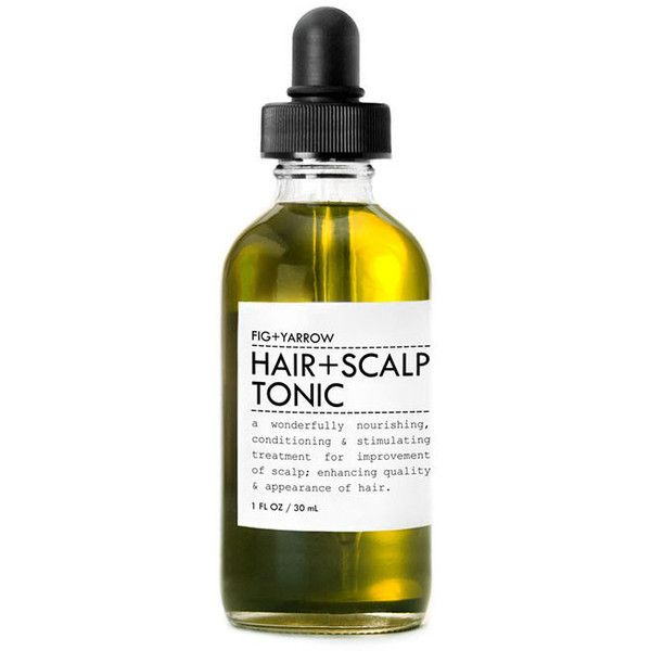 Hair & Scalp Tonic Trial/Travel Size design by Fig and Yarrow (£8.50) ❤ liked on Polyvore featuring beauty products, haircare, spa essentials and travel size beauty products