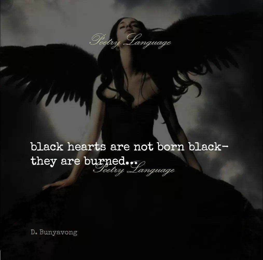 Black Hearts Are Not Born Black