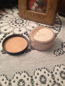 make-up...mineral powder