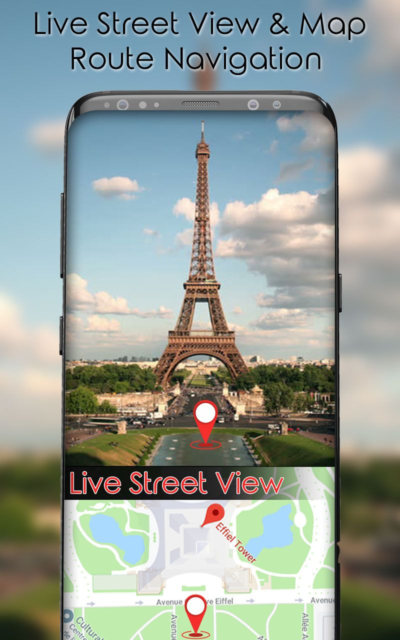 Live Street View & Live Satellite Maps app is very simple