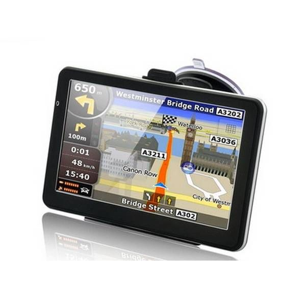 7 Inch Car Gps Navigation Tft Lcd Touch Screen Windows Ce6 0