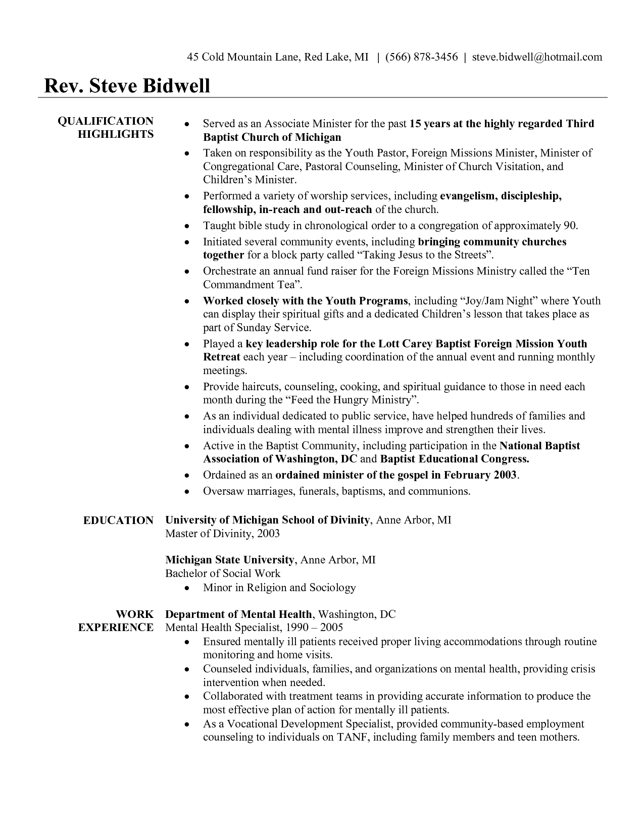 Youth Central Resume templates, Resume examples, Sample