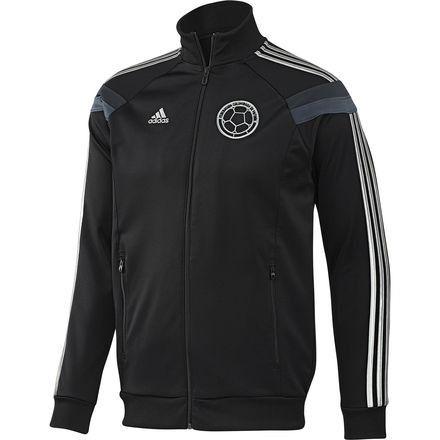 Chaqueta Negra Selección Colombia | Adidas chaqueta