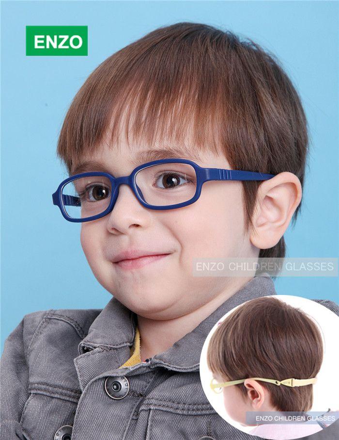 41584a522a Encontrar Más Gafas de Sol Información acerca de Flexible anteojos para  niños Frame tamaño 45/16 No tornillo, TR90 niños gafas, Unbreakable segura  Light ...