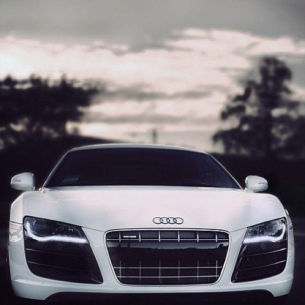 Beautiful White Audi R8 Best Luxury Cars Sports Cars Luxury